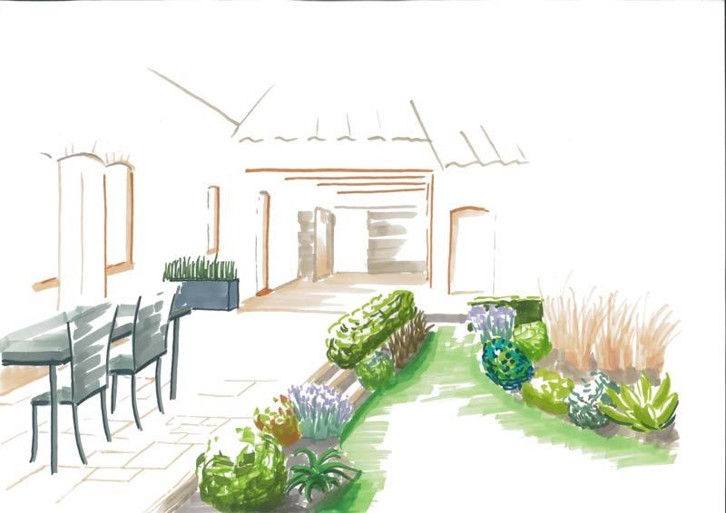 Conception couleur jardin - Paysagiste angers ...