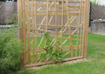 Treillis couleur jardin - Treillis jardin bois ...