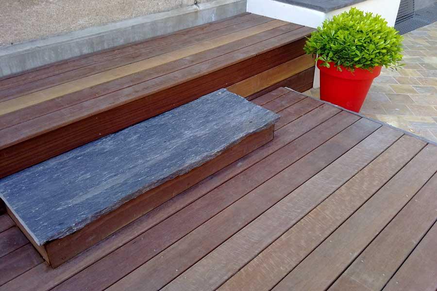 Petite terrasse bois id e int ressante pour la - Petite terrasse bois ...