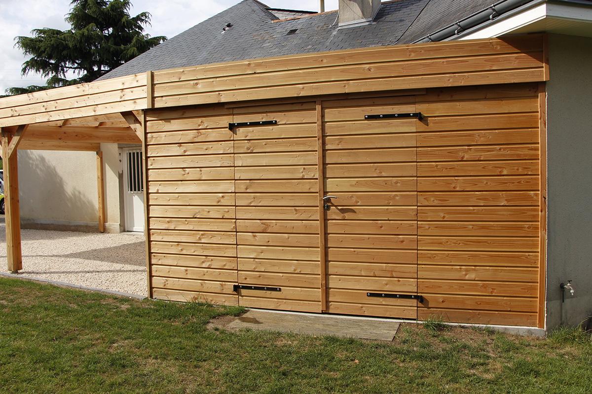 carport enti rement sur mesure couleur jardin. Black Bedroom Furniture Sets. Home Design Ideas