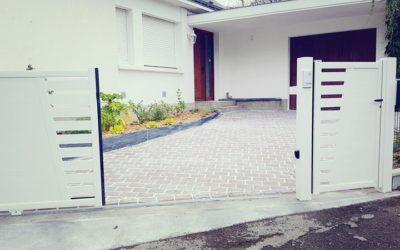 Réfection d'une entrée de maison