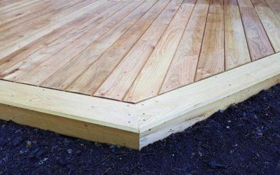 Réalisation d'une nouvelle terrasse en bois